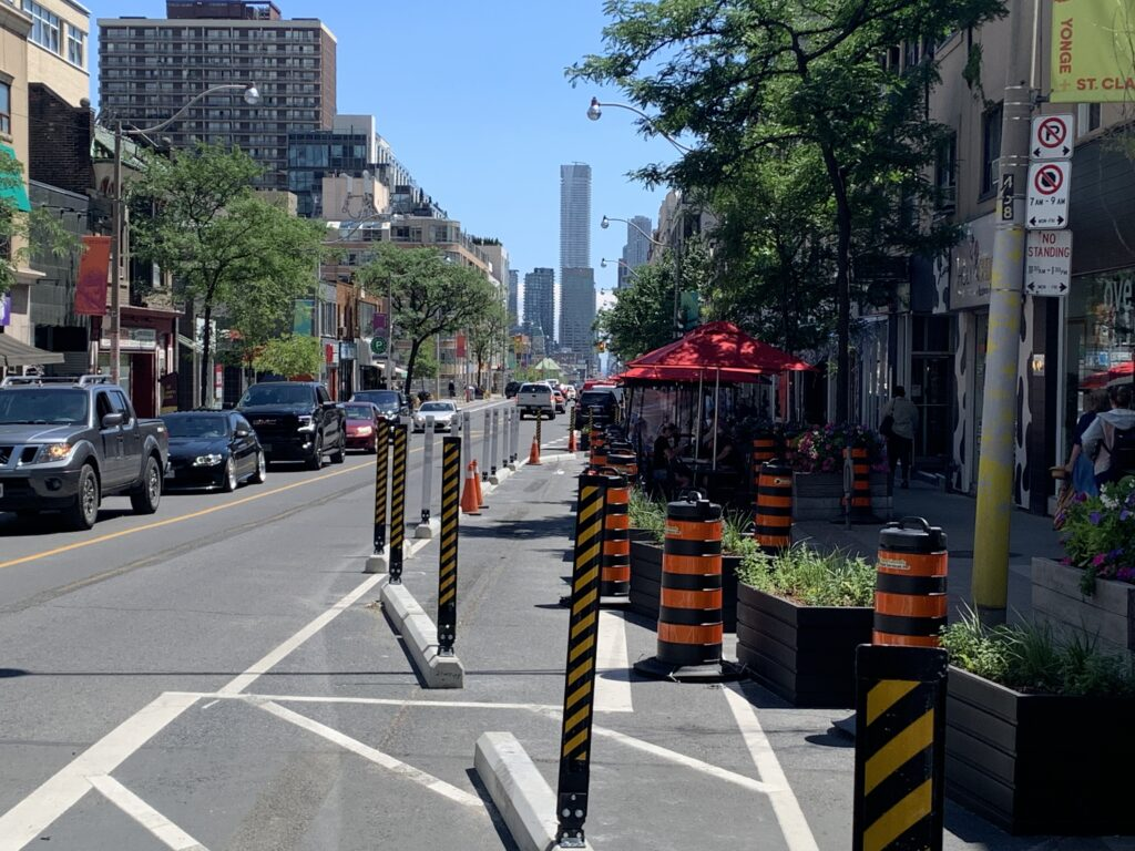 Yonge Becomes A Complete Street